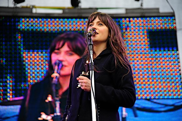 "Watch She & Him Cover Beach Boys' ""Darlin'"" in Isolation"