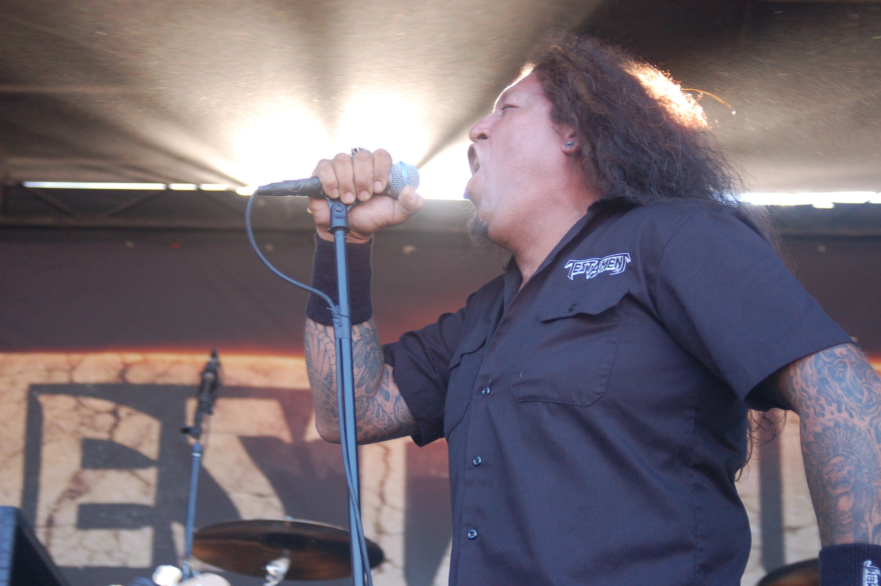 Chuck Billy of Testament Tests Positive for Coronavirus, Death Angel Drummer Will Carroll in ICU