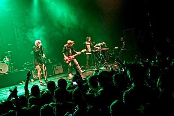 Swedish indie-rock band The Sounds to perform at Bowery Ballroom on 9/14