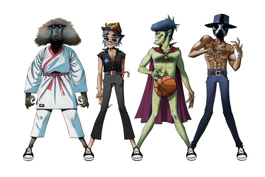 """Gorillaz Share Visual Story """"The Book of 2D"""""""