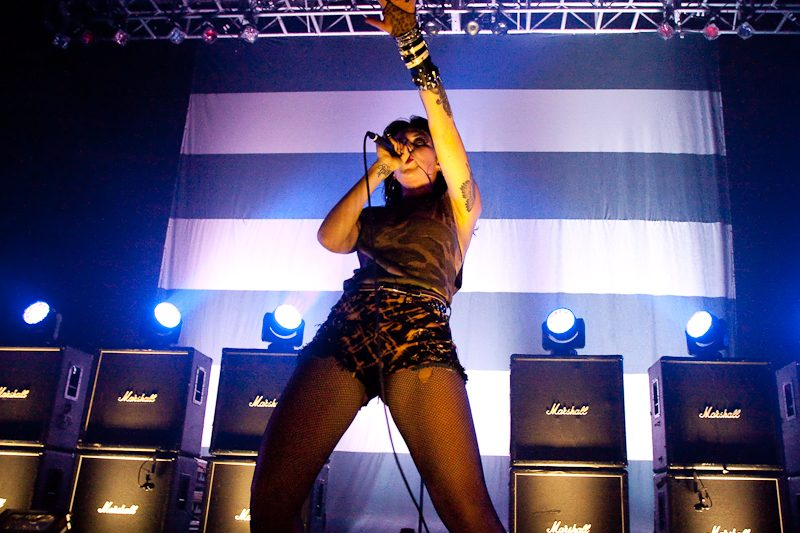 "LISTEN: Sleigh Bells Release New Song ""Rule Number One"""