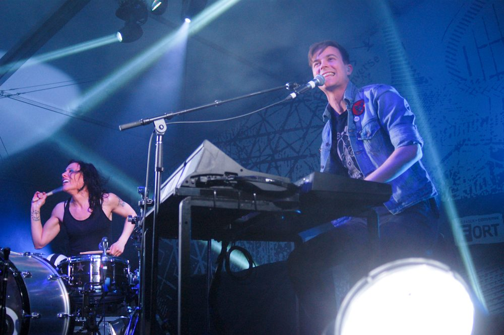 "Matt and Kim Release Adorable New Video for Acapella Song ""Happy If You're Happy"""