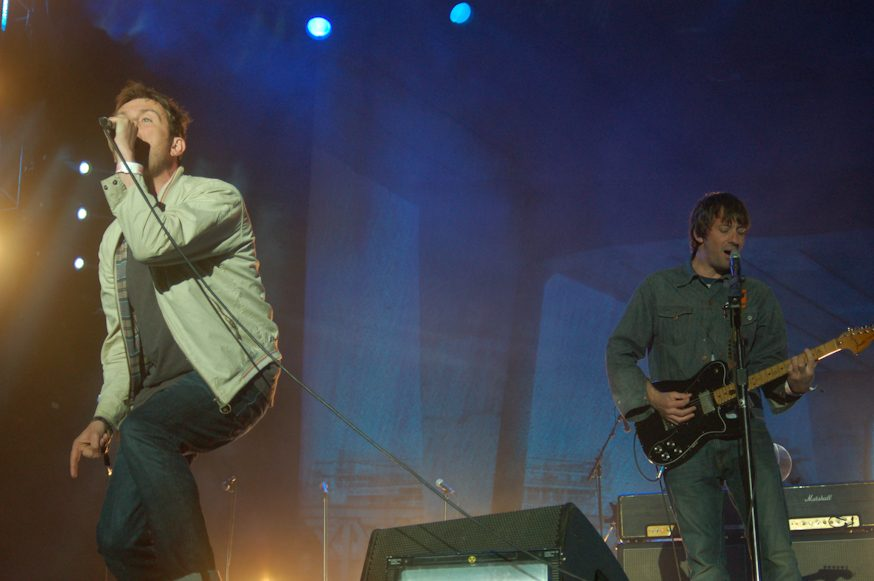 Blur Announce Free Converse Rubber Tracks Show In New York