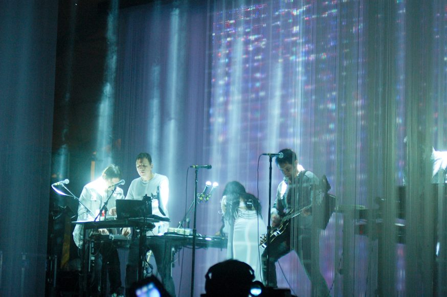 Nine Inch Nails Perform How To Destroy Angels Songs with Mariqueen Maandig Reznor in Los Angeles