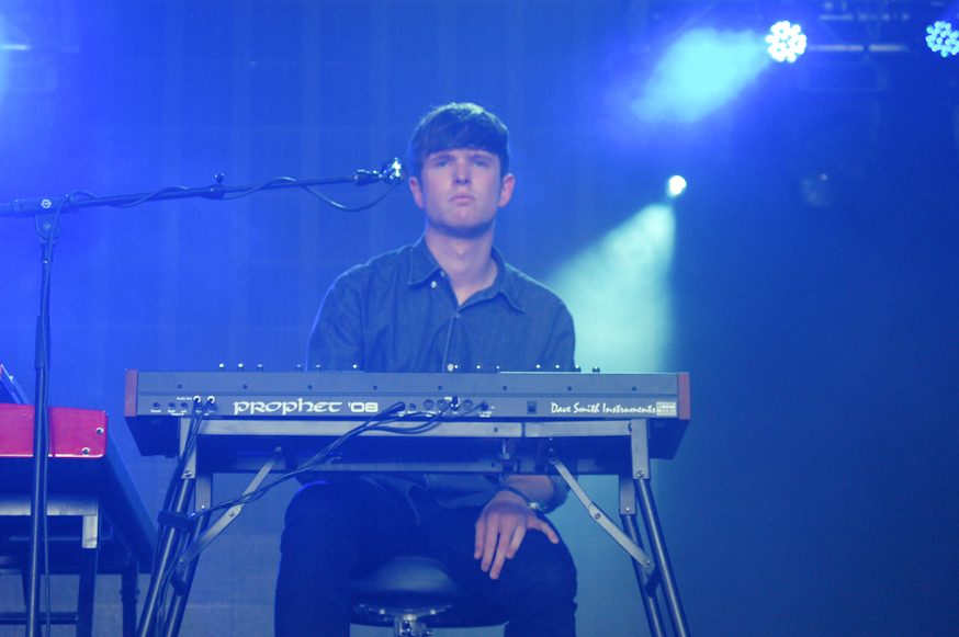 James Blake Solo Piano Show @ Theater at the Ace Hotel 12/10-12/11