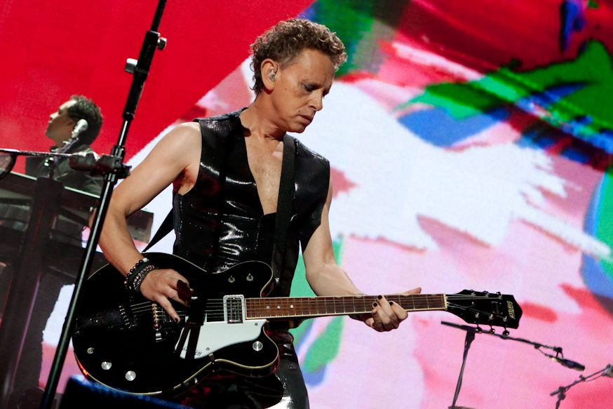 "Martin Gore Of Depeche Mode Shares Unsettling New Track ""Howler"""