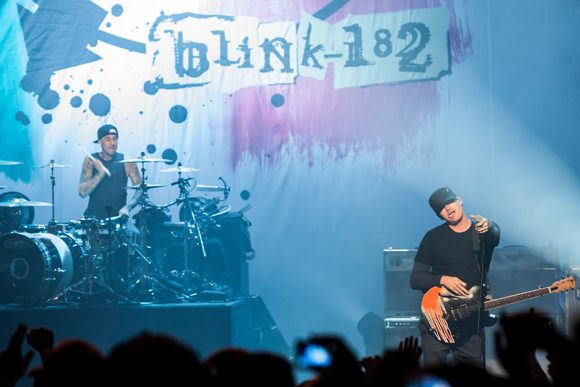 Tom Delonge and Mark Hoppus of Blink-182 Reconnect on Podcast to Discuss UFOs and the Time M. Night Shymalan Almost Directed a Blink Video