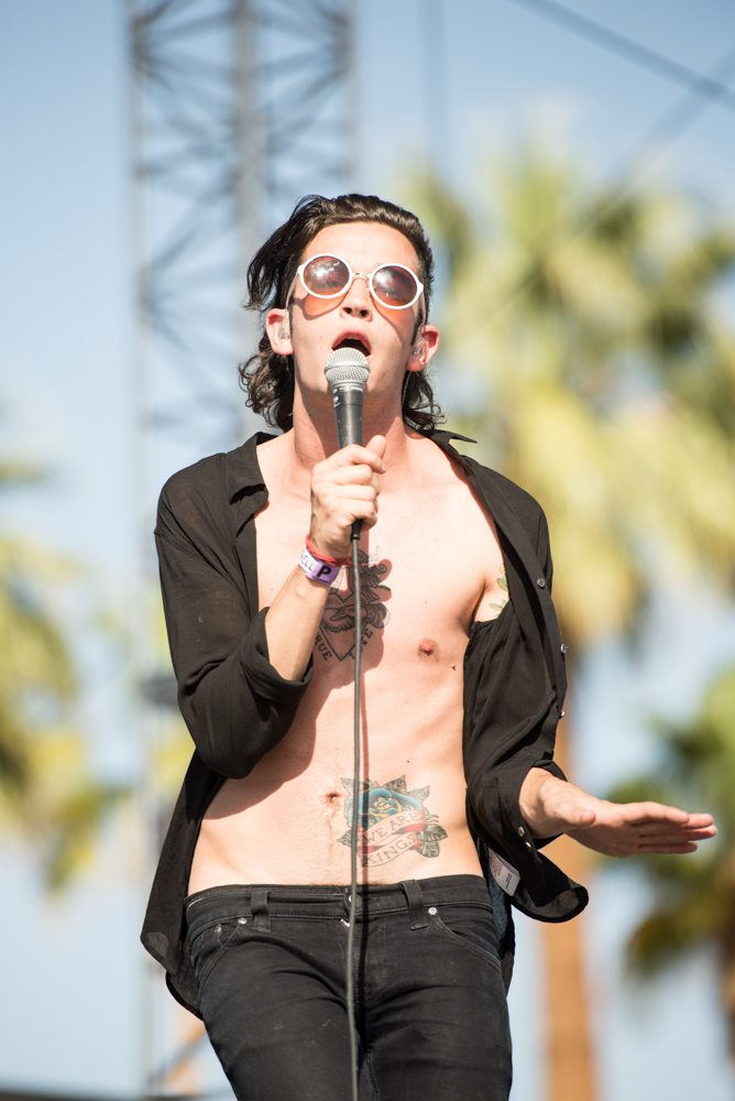 Matt Healy of The 1975 Says Band Will Only Play Festival with Equal Gender Split Going Forward