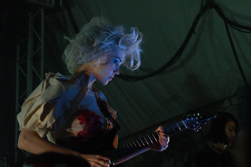 St. Vincent at the Hollywood Bowl on September 24th