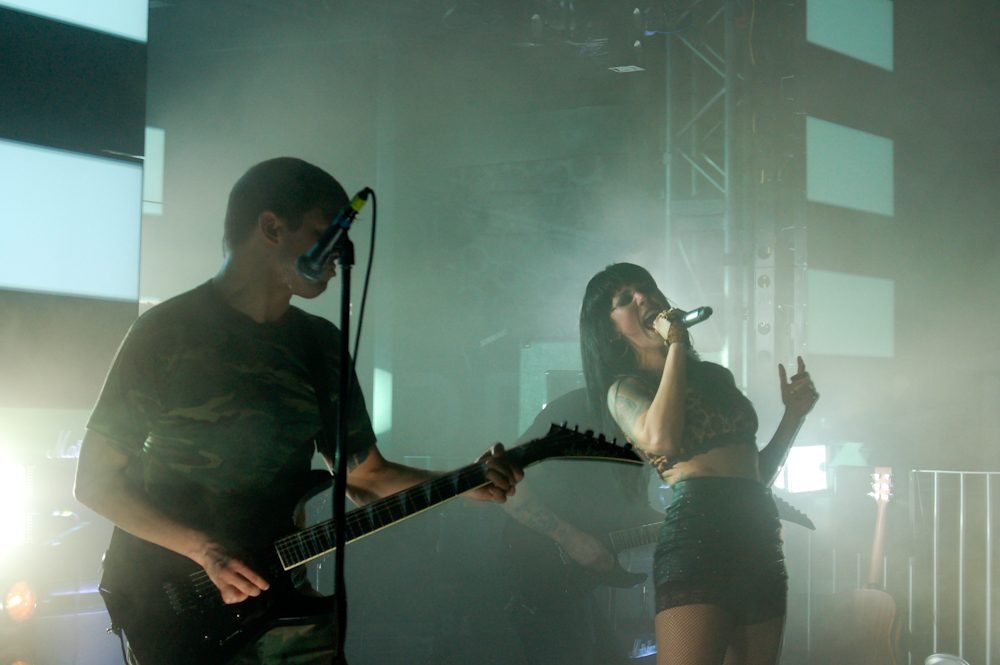 """Sleigh Bells Unveil Chaotic New Track """"Justine Go Genesis"""""""