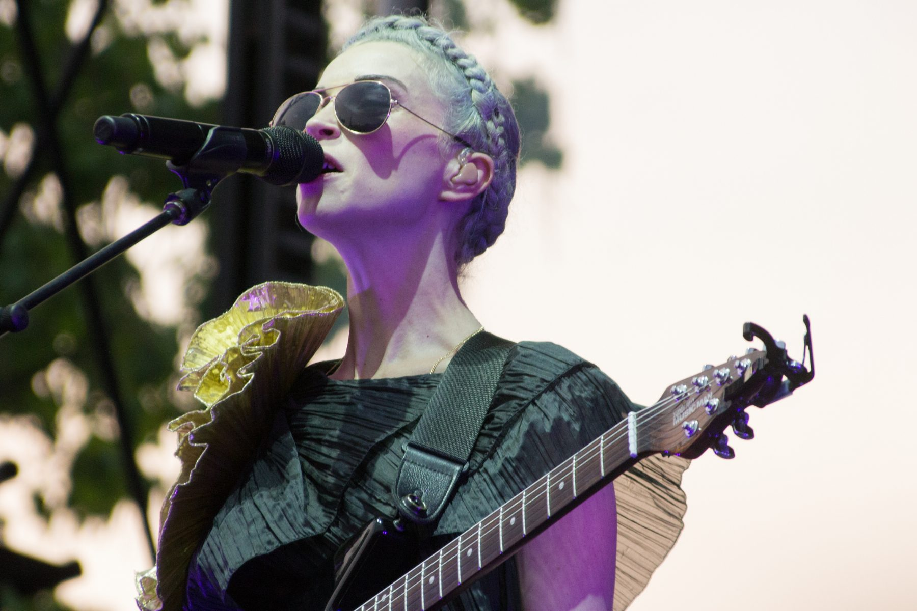 "St. Vincent Offers Impromptu Cover of ""Forty Six & 2"" by Tool for BBC Radio 6"