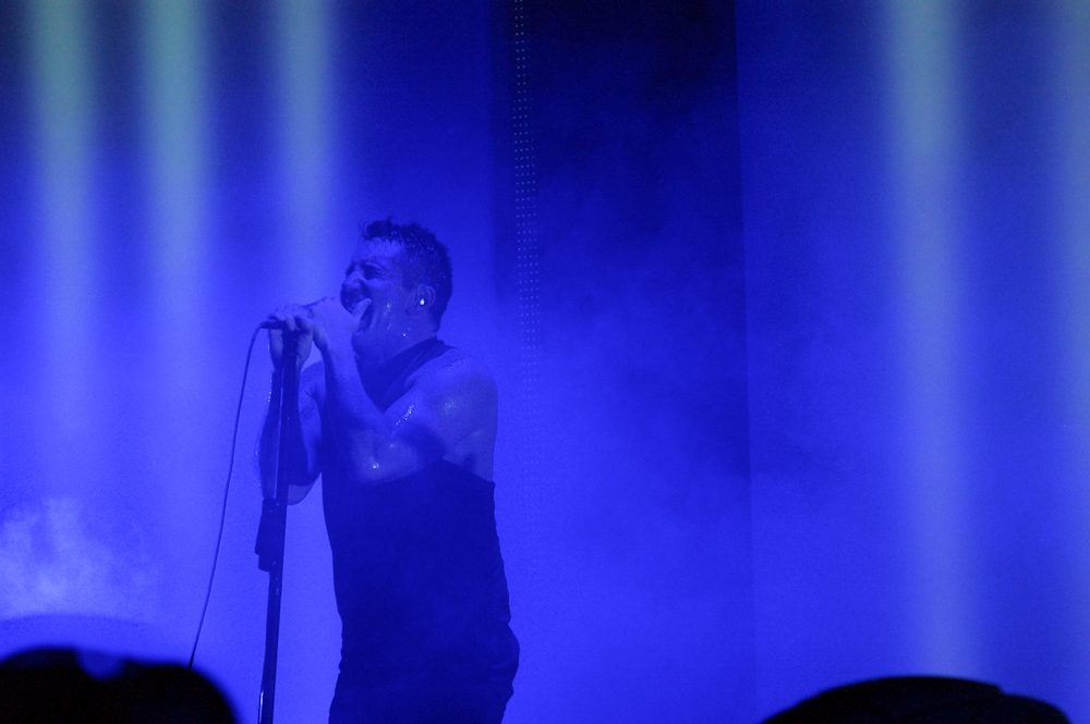 "Nine Inch Nails and Gary Numan Join Forces in Live Performance Video for Cover of Numan's ""Metal"""
