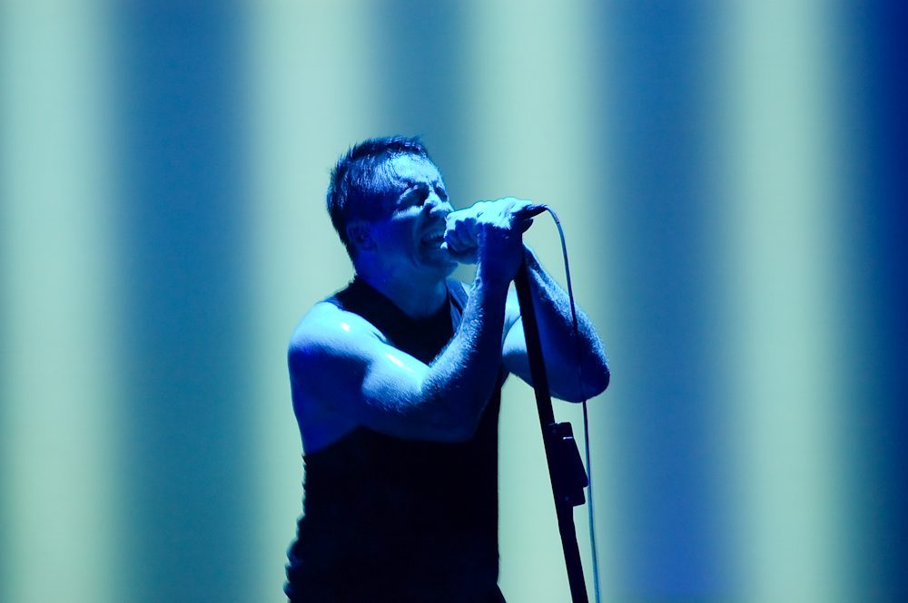 "Nine Inch Nails Unleashes Menacing New Song ""God Break Down the Door"""