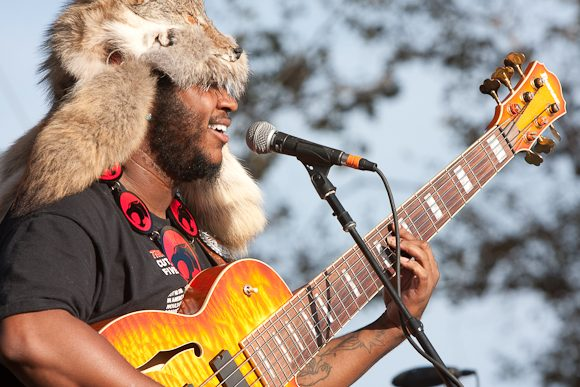 Thundercat and Reggie Watts Perform Together on Saturday at Coachella