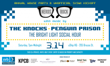 uShip Nerds Rock SXSW 2015 Party ft. The Knocks, Penguin Prison