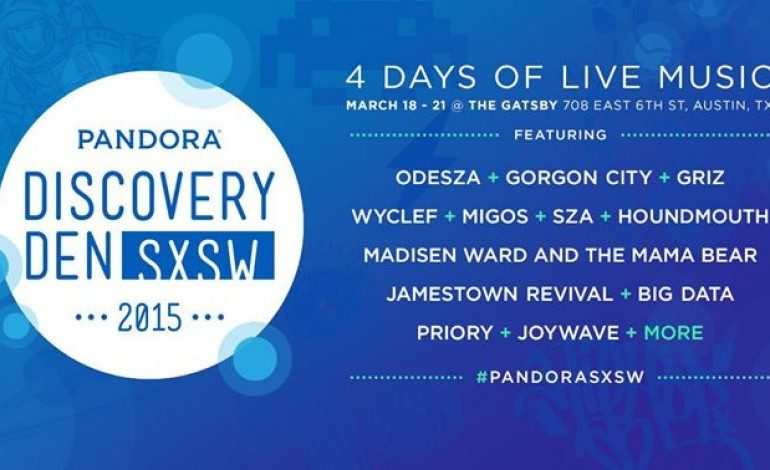 Pandora SXSW 2015 Discovery Den Day Parties Announced ft. SZA, Peking Duk