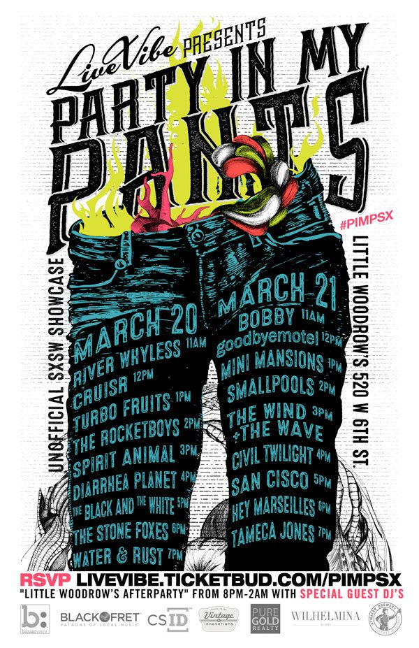 Party in My Pants SXSW 2015