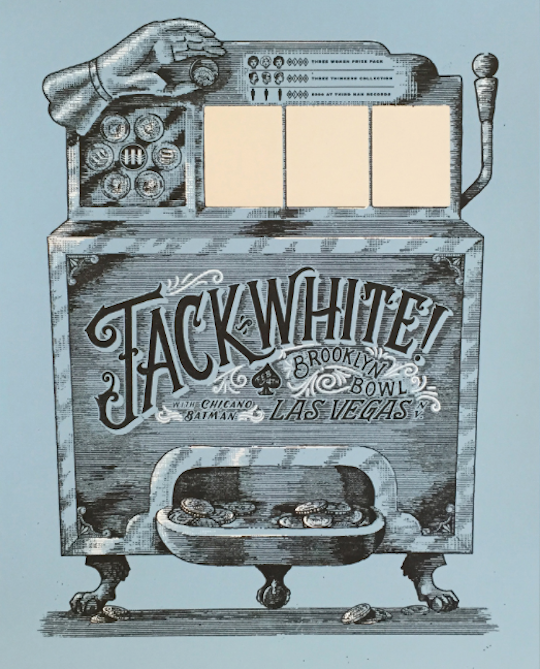 Jack White Covers Harry Connick Jr. and Releases Special Scratch-Off Posters