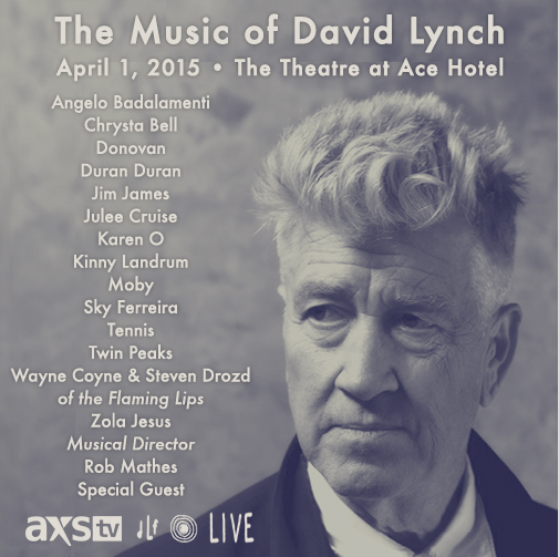 The Music of David Lynch (various artists) @ The Theatre at Ace Hotel 4/1