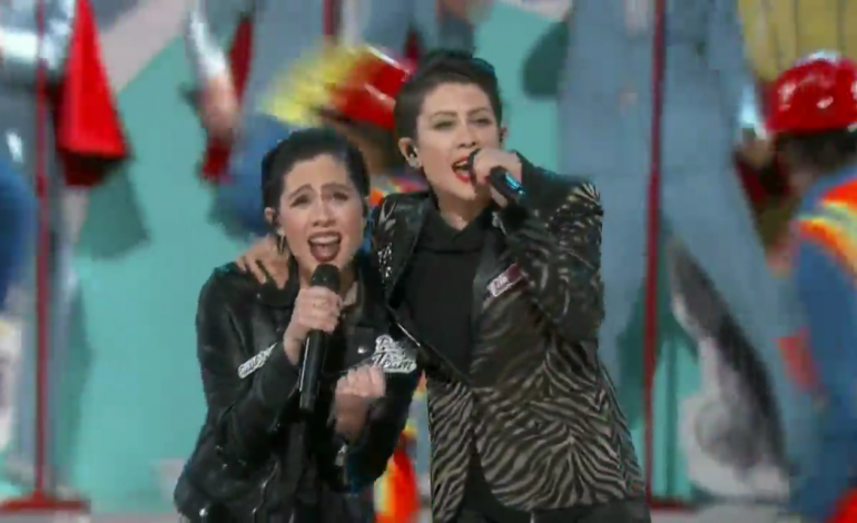 """WATCH: The Lonely Island and Tegan and Sara Perform """"Everything Is Awesome"""""""