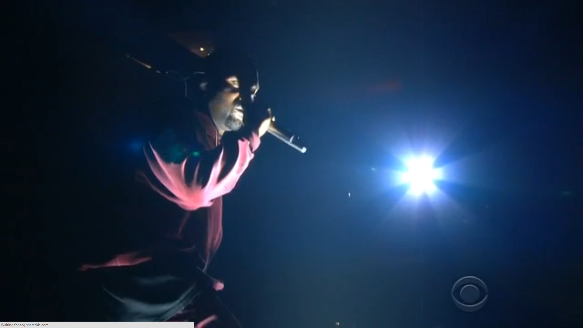 """Kanye West Performs """"Only One"""" At The 2015 Grammys"""