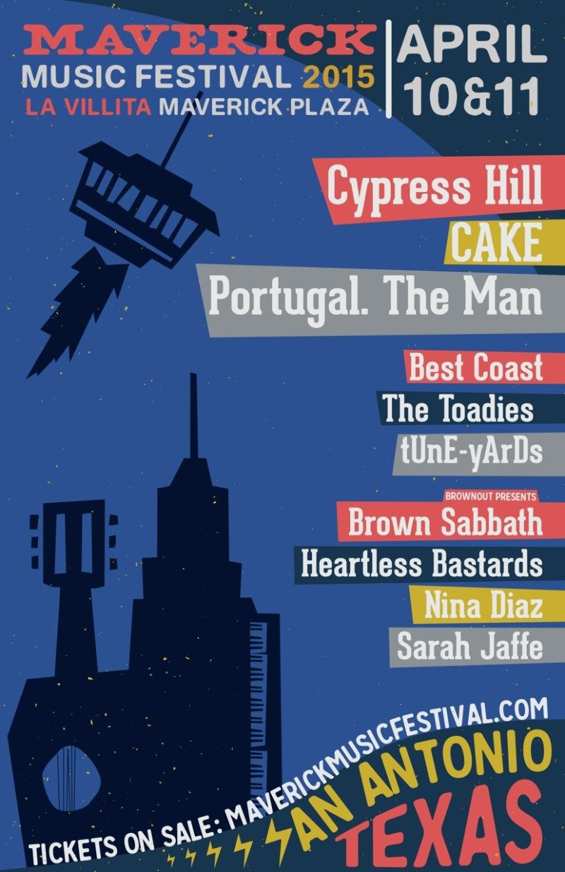 Maverick Music Festival 2015 Lineup Announced Featuring Cypress Hill, Best Coast And Portugal. The Man