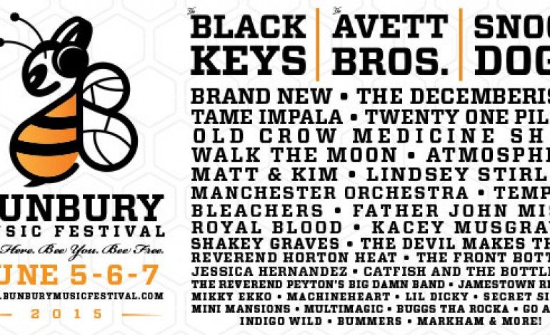 Bunbury Music Festival 2015 Lineup Announced Featuring The Black Keys, Tame Impala And The Avett Brothers