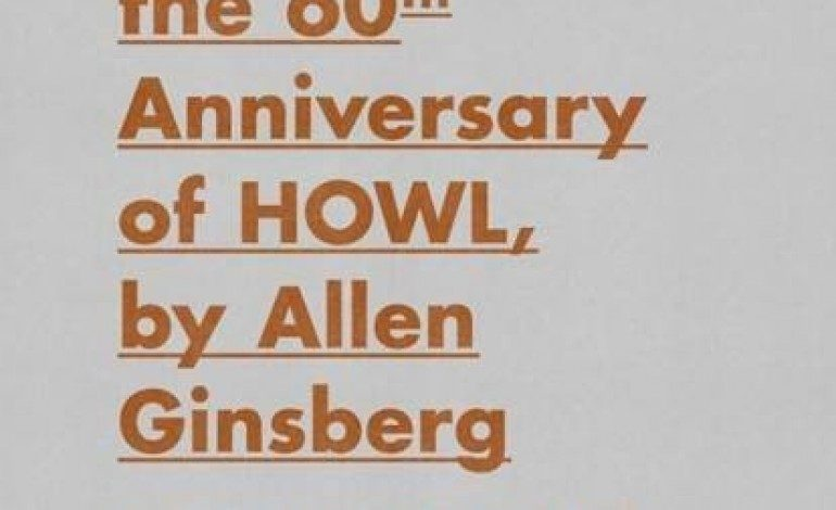 """A Celebration of the 60th Anniversary of Allen Ginsberg's """"Howl"""" @ The Theatre at Ace Hotel 4/7"""