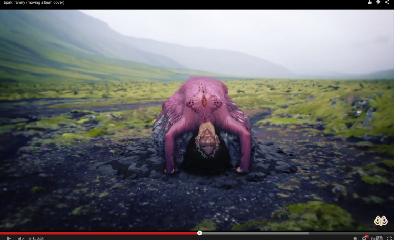 """WATCH: Bjork Releases New Moving Album Cover For """"Family"""""""