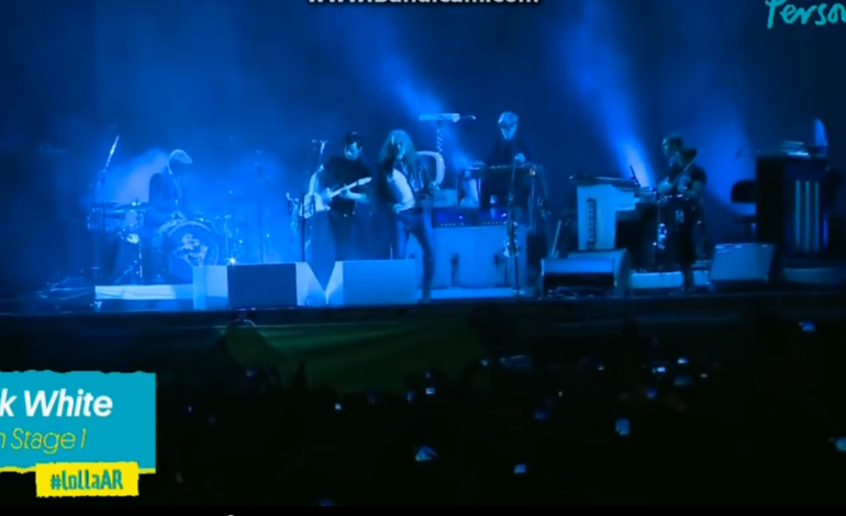 """WATCH: Jack White And Robert Plant Perform """"The Lemon Song"""""""