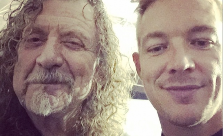 Diplo Says He Is Working With Robert Plant