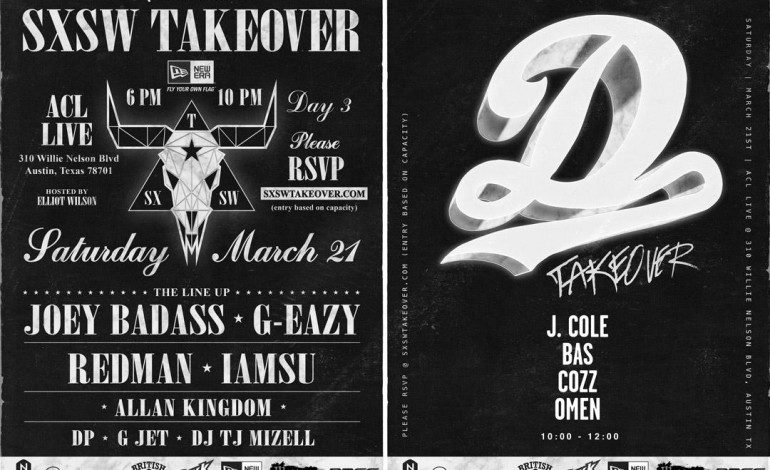 SXSW Takeover ft. Joey Badass, G-Eazy, J. Cole, Bas, and more @ ACL Live 3/21