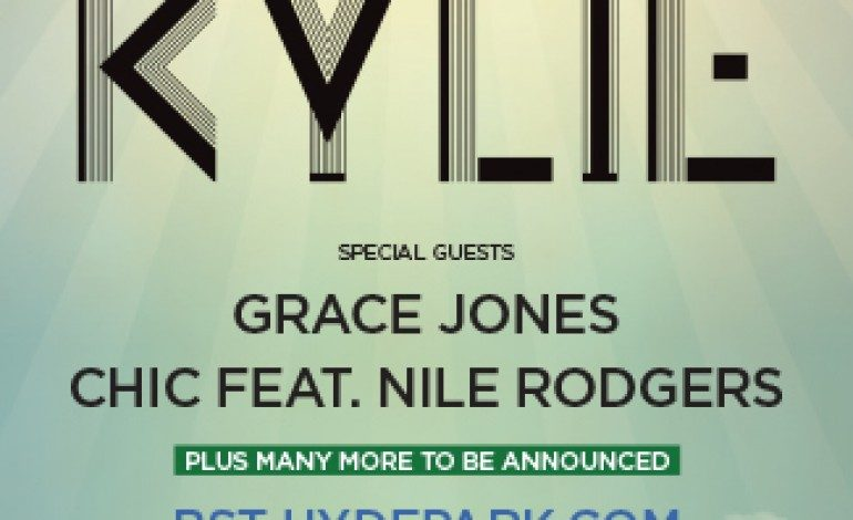 British Summer Time Hyde Park June 21 2015 Lineup Announced Featuring Kylie Minogue, Grace Jones and Chic With Nile Rodgers