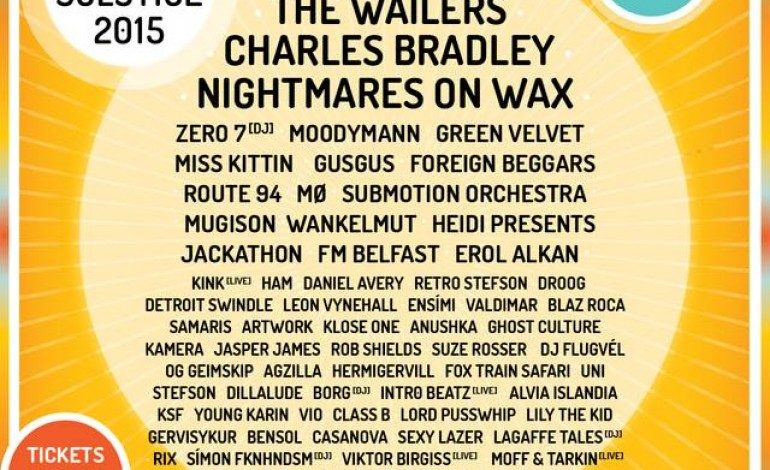 Secret Solstice Iceland 2015 Lineup Announced Featuring Wu Tang Clan, FKA Twigs and Charles Bradley
