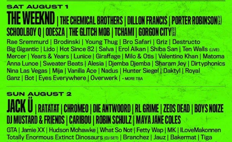 Hard Summer Music Festival 2015 Lineup Announced Featuring The Chemical Brothers, Jack U and Ratatat