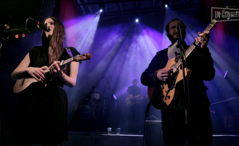 """WATCH: The Staves And Bon Iver's Justin Vernon Perform """"Make It Holy"""""""