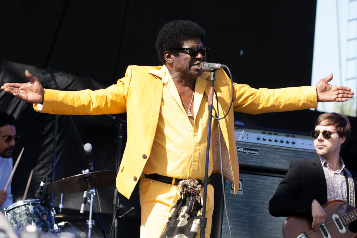 Charles Bradley brought some much needed soul to the Main Stage.