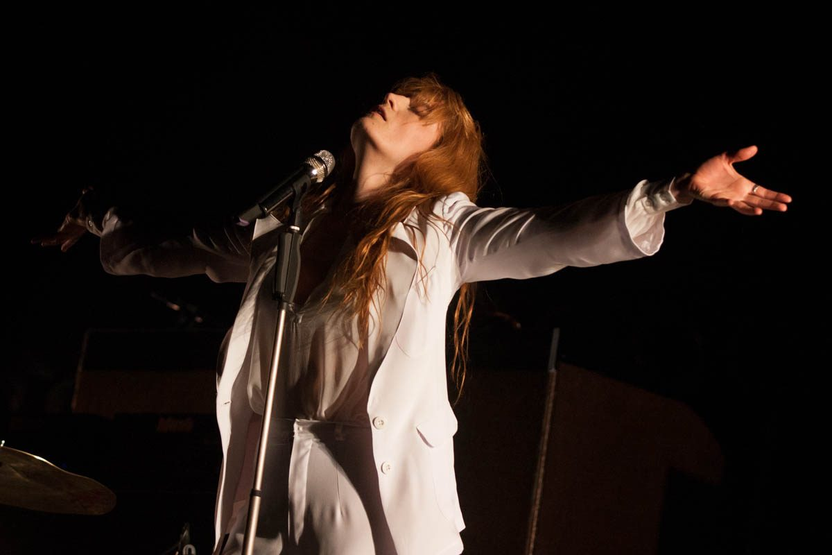 Florence + the Machine at Coachella.