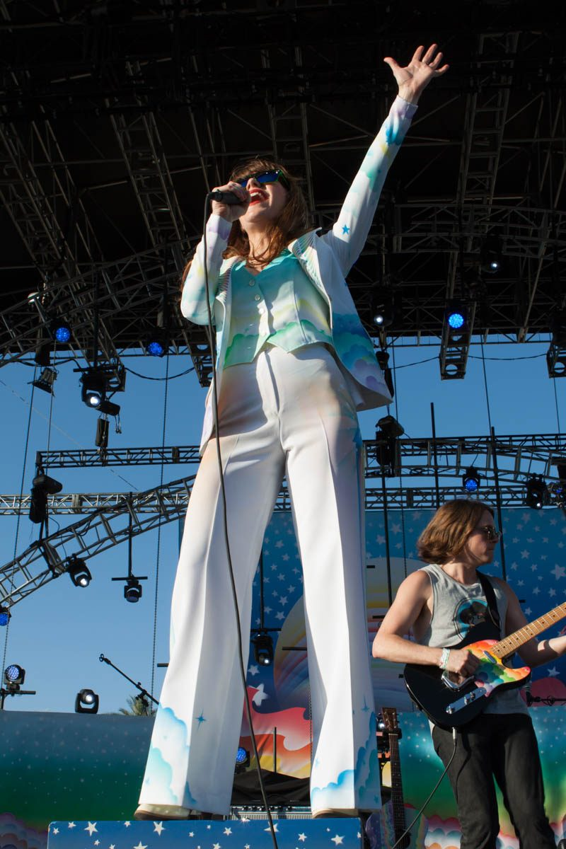 Jenny Lewis had everyone flocking to the Outdoor Stage.