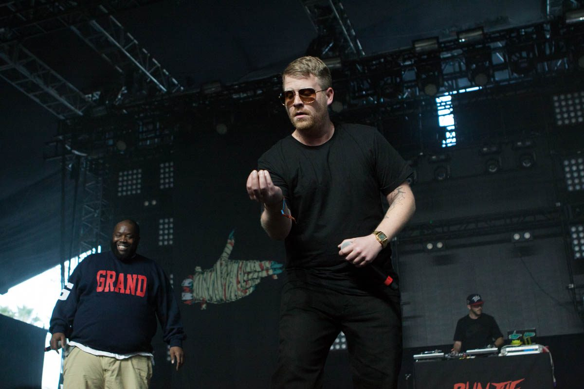 Run The Jewels had the Mojave Tent bursting at the seams.