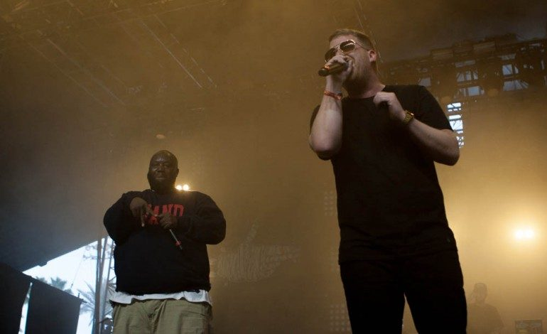 "Run the Jewels are Joined by Pharrell and Zack de la Rocha on ""JU$T"""