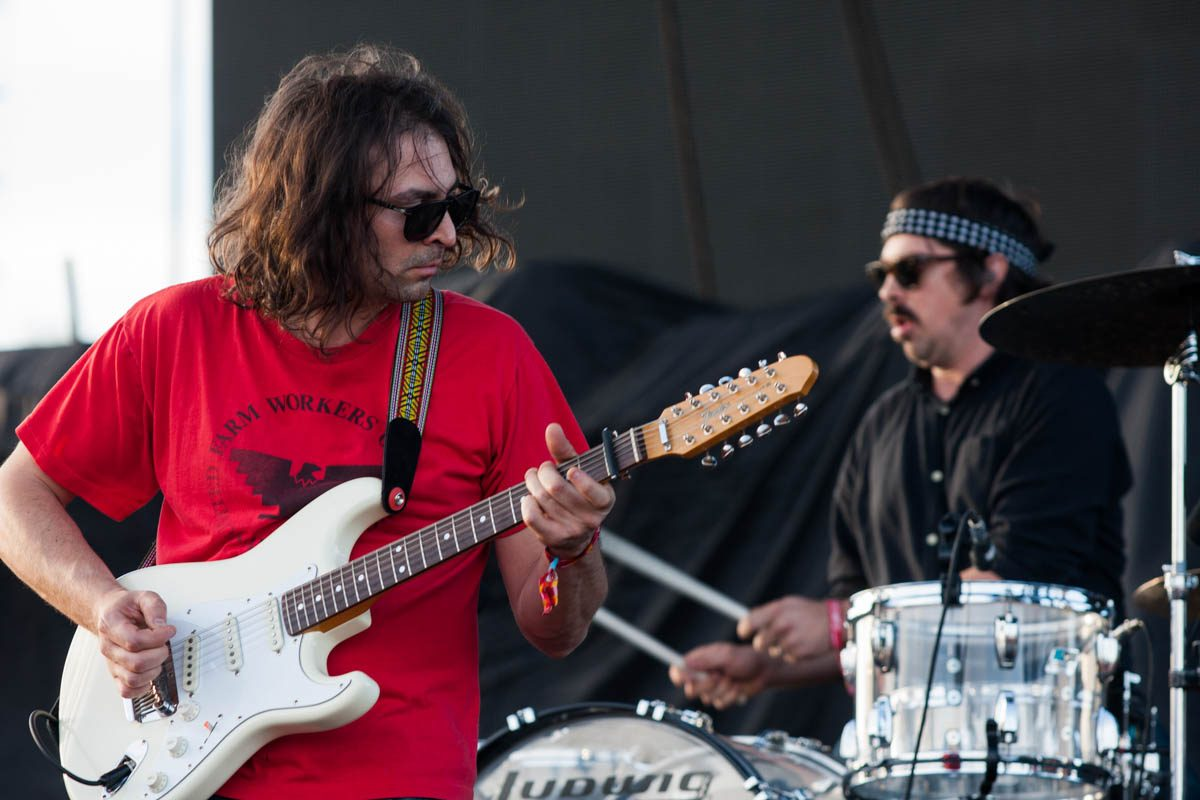 The War On Drugs ' Adam Granduciel dropping the lead on the song Red Eyes.
