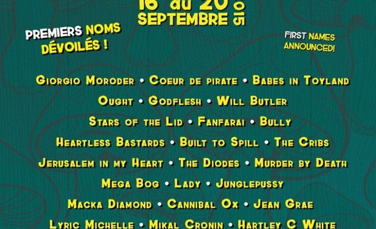 Pop Montreal Festival 2015 Lineup Announced Featuring Will Butler, Giorgio Moroder And Babes In Toyland