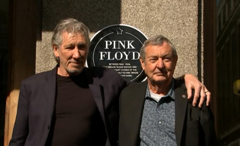 WATCH: Pink Floyd's Surviving Members Reunite For Performance At Former School
