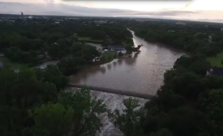 Flooding In Austin, Texas Causes Damage To Buildings And Music Events