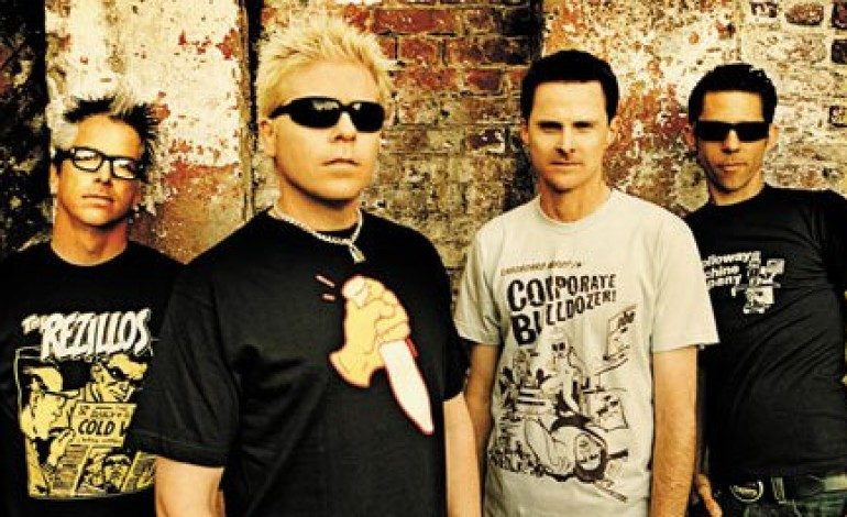 The Offspring at the SoFi Stadium on Aug. 8th