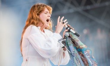 "Florence Welch Joins Arcade Fire to Perform ""Dog Days Are Over"" at Wembley Stadium"