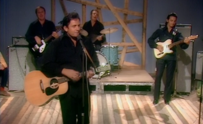 Johnny Cash's Man In Black: Live In Denmark Now Available To Stream On Qello