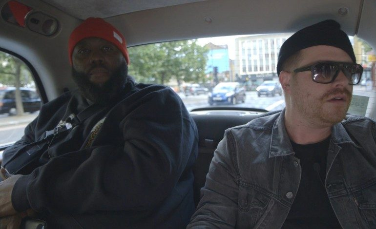"""WATCH: Run The Jewels And Boots Perform """"Early"""" In The Back Of A Cab"""