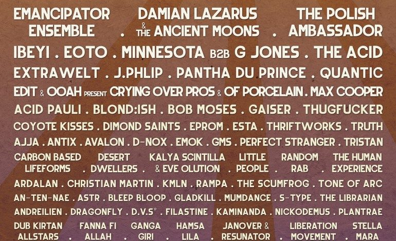 Symbiosis Gathering 2015 Lineup Announced Featuring tUnE-yArDs, Four Tet And Sylvan Esso